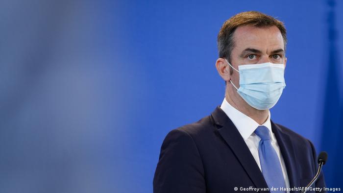 Frankreich Gesundheitsminister Olivier Veran