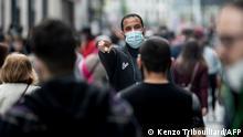 Belgien Corona-Pandemie Symbolbild | Brüssel