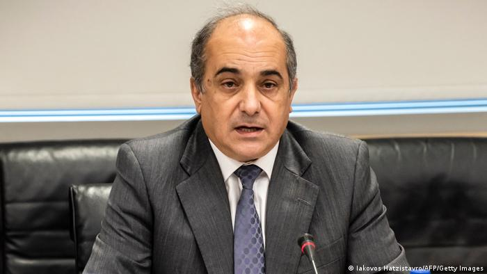 Zypern Parlamentspräsident Demetris Syllouris (Iakovos Hatzistavro/AFP/Getty Images)