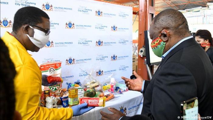 Südafrika Johannesburg | Coronavirus | Ernährungssicherung