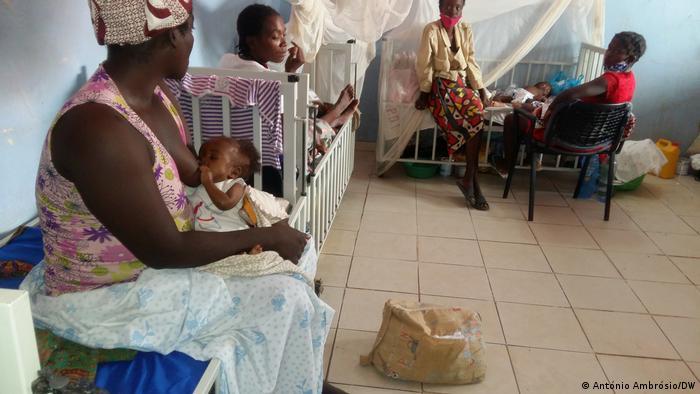 Angola Bengo Krankenhaus Unterernährung