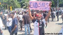 Lagos I Corona-Proteste