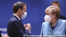 Belgien Brüssel | EU Gipfel | Merkel und Macron