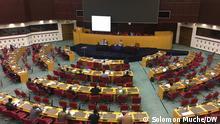 Äthiopien Addis Ababa Forum der politischen Parteien