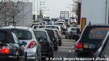 Frankreich Europabrücke zwischen Straßburg und Kehl