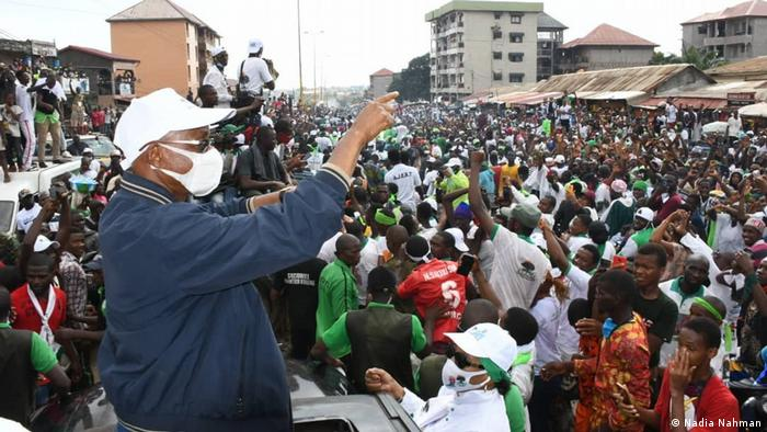 Guinea Wahlkampf Cellou Dalein Diallo