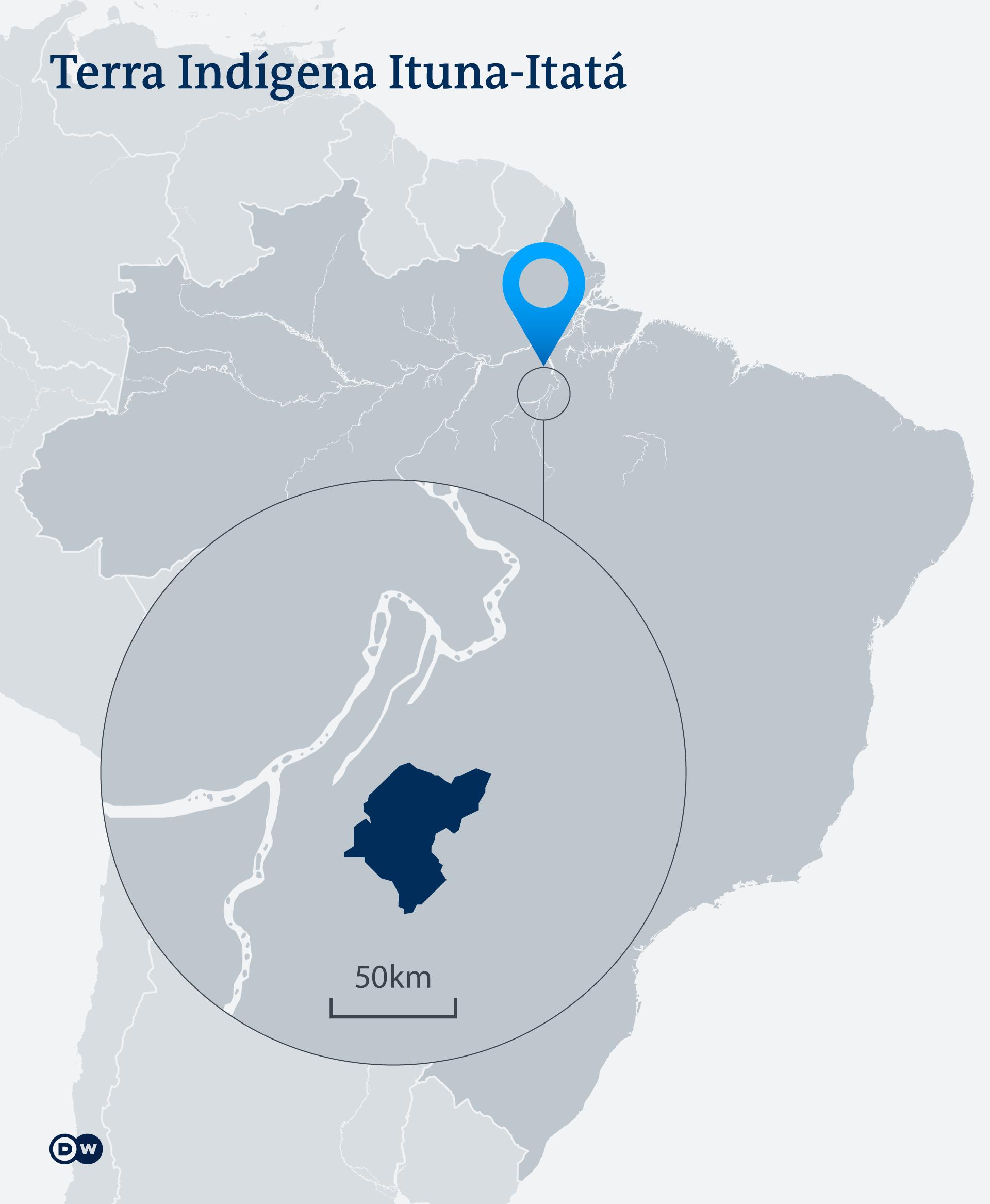 Infografik Karte Ituna Itata PT