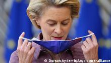 Belgien Brüssel | EU Gipfel | Ursula von der Leyen