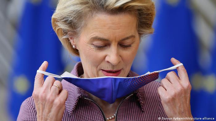Belgien Brüssel | EU Gipfel | Ursula von der Leyen (Dursun Aydemir/AA/picture-alliance)