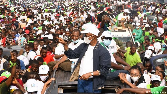 Guinea opposition presidential candidate Cellou Dalein Diallo (Nadia Nahman)