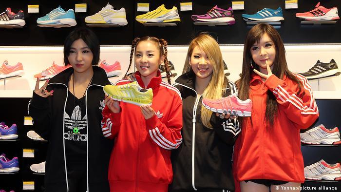 K-Pop group 2NE1