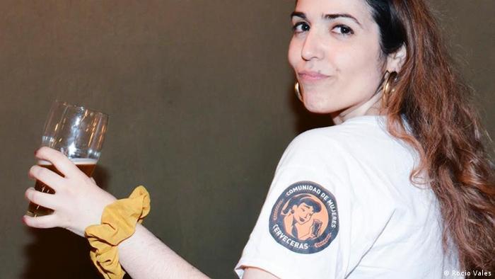 Karen Borensztein, fundadora de la Comunidad de Mujeres Cerveceras.