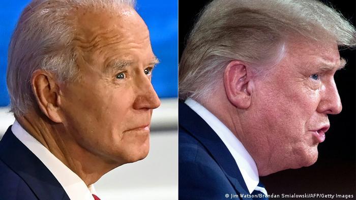 USA Townhalls Fragestunde Trump Biden
