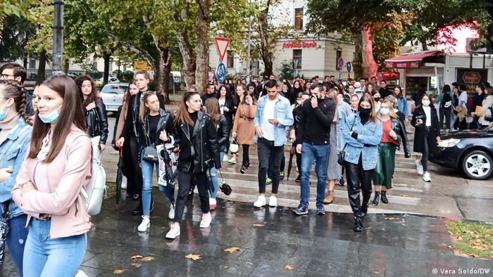 Prosvjed u Mostaru protiv mjera ograničenja