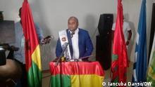 Bissau/Guinea-Bissau, 15.10.2020+++Carlos Alberto Mendes Teixeira (Caíto Teixeira) ist der neue Präsident des guinea-bissauischen Fussballverbandes. (c) Iancuba Dansó/DW