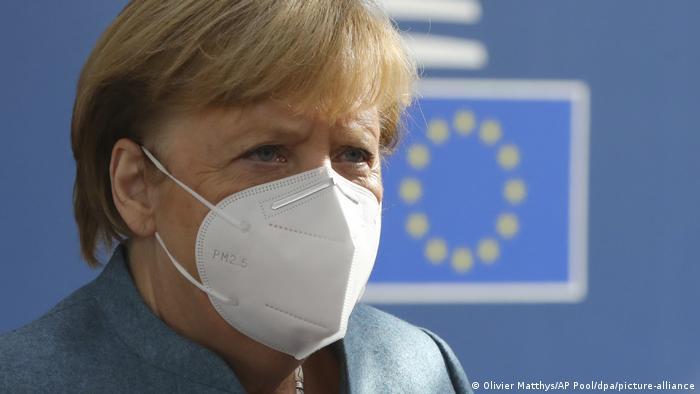 Gipfel der EU-Staats- und Regierungschefs | Angela Merkel (Olivier Matthys/AP Pool/dpa/picture-alliance)