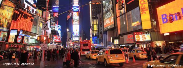 Time Square в Нью-Йорке