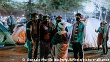 Chile Migranten aus Bolivien in Santiago