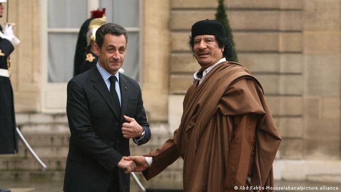 Frankreich Libyen Sarkozy Gaddafi