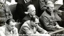 Nürnberger Prozess - 1945-1946