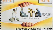 16.10.2020 Feyori Tewolde: Junge Frau, die erste Braille-Zeitung für die blinde Gesellschaft in Äthiopien gründete. via Shewaye Legesse