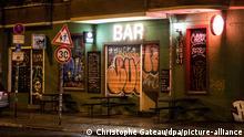 Berlin | Coronavirus: Sperrstunde in Berlin - geschlossene Bar in Friedrichshain