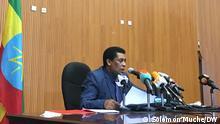16.10.2020 Äthiopien Außenminister Sprecher Dinna Mufti via Shewaye Legesse