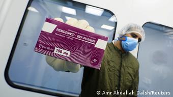 Препарат ремдесивир, который используется при лечении пациентов с коронавирусом