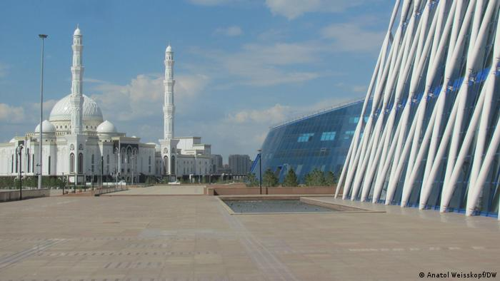 В столице Казахстана - Нур-Султане