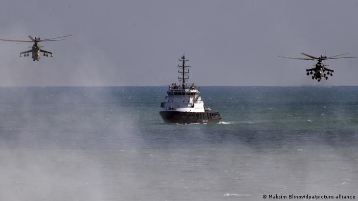 Russian military drills
