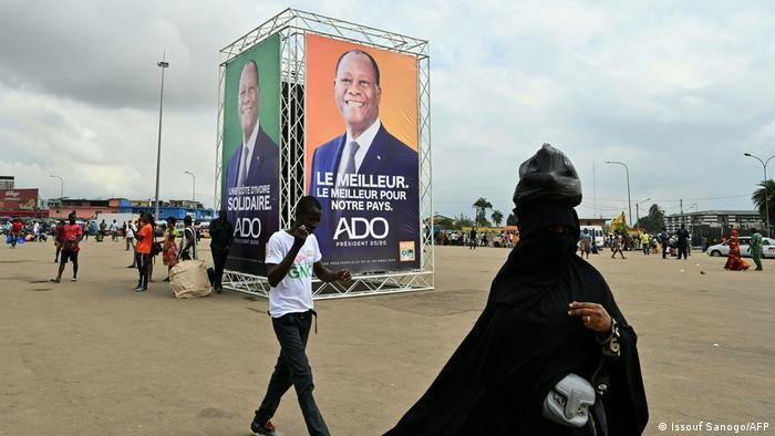 L'élection présidentielle doit se tenir le 31 octobre en Côte d'Ivoire