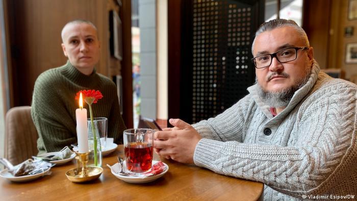 Российский блогер Сергей Пинягин с женой Марией