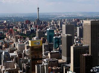 Skyline von Johannesburg (Foto: AP)