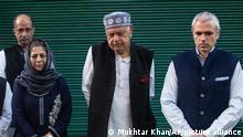 Indien Kaschmir Jammu Srinagar | Treffen politischer Führer