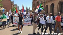 Südafrika I Protest #PutSouthAfricansFirst in Pretoria