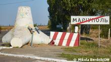Ukraine Mariupol im Donezk Gebiet
