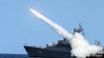 Маневры ВМФ России в Каспийском море (фото из архива)