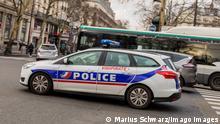 Frankreich Paris | Polizeiwagen | Symbolbild
