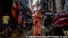 Indien Mumbai | Coronavirus | Slum Dharavi
