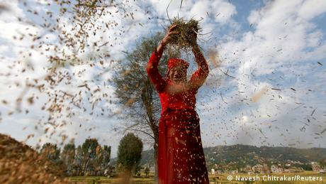 BDTD Nepal | Welternährungstag in Bhaktapur (Navesh Chitrakar/Reuters)