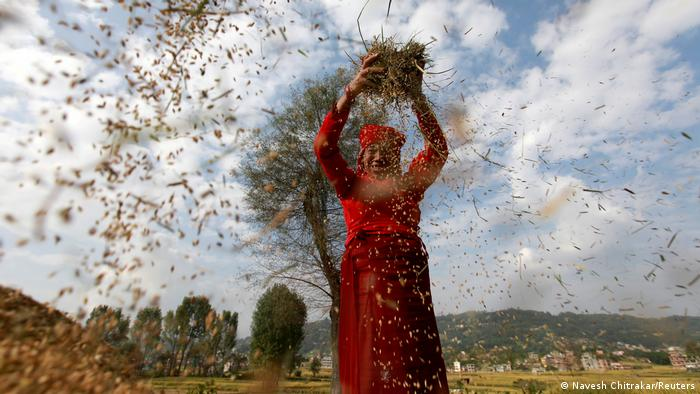 BDTD Nepal   Welternährungstag in Bhaktapur (Navesh Chitrakar/Reuters)