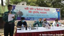 Bangladesch   Demonstration gegen Vergewaltigungen und Gewalt gegen Frauen in Dhaka