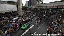 Thailand Erneut Massenproteste in bangkog