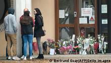 Frankreich Nach mutmaßlichem Terrorakt auf Lehrer bei Paris