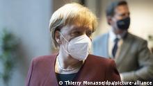 Belgien Brüssel | Gipfel der EU-Staats- und Regierungschefs: Angela Merkel