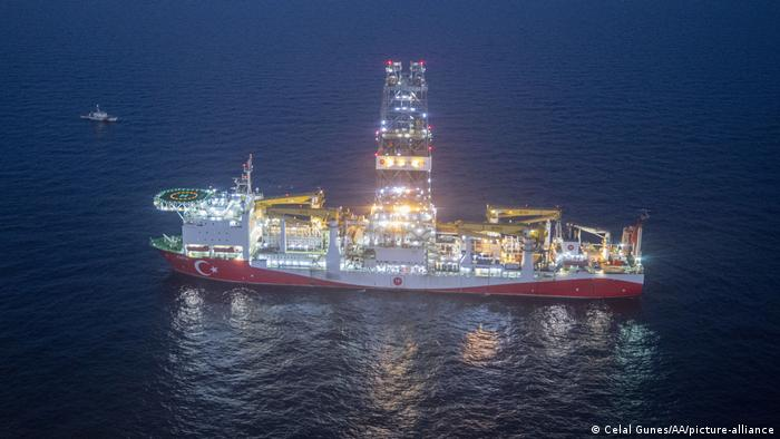 Turkish drilling ship Fatih