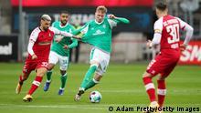 Deutschland Bundesliga Freiburg gegen Werder Bremen