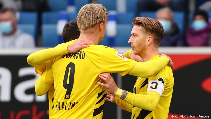 Deutschland Bundesliga - TSG 1899 Hoffenheim vs Borussia Dortmund | Tor Reus (Kai Pfaffenbach/Reuters)