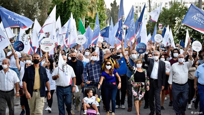 Nordzypern Wahlkampf |Mustafa Akinci, Staatspräsident
