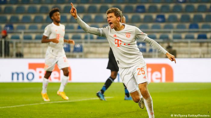 Thomas Müller looks set to have another exceptional season at Bayern